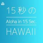 15秒のハワイ